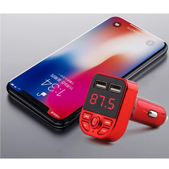 Car MP3 Player with USB, Bluetooth, Handsfree Kit, TF Music,  FM Transmission