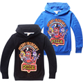 Kids Cartoon game Five Nights at Freddy's long sleeve Hoodies cotton Sweatshirts for boys girls 6-14Y retail