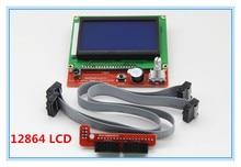 1 шт. RAMPS1.4 ЖК 12864 Панель Управления 3d-принтер Умный Контроллер ЖК-Дисплей Бесплатная Доставка Груза падения L101