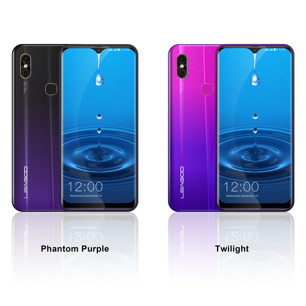 Image 3 - LEAGOO M13  Android 9.0 Smartphone 6.1 HD  IPS Waterdrop Display 4GB RAM 32GB ROM MT6761 3000mAh Dual Cams 4G Mobile Phone-in Cellphones from Cellphones & Telecommunications