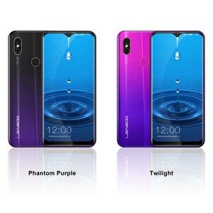 Image 3 - Leagoo teléfono inteligente M13, teléfono móvil 4G con Android 9,0 so, pantalla antigotas HD IPS de 6,1 pulgadas, 4GB RAM, 32GB ROM, procesador MT6761, batería de 3000mAh, cámara Dual