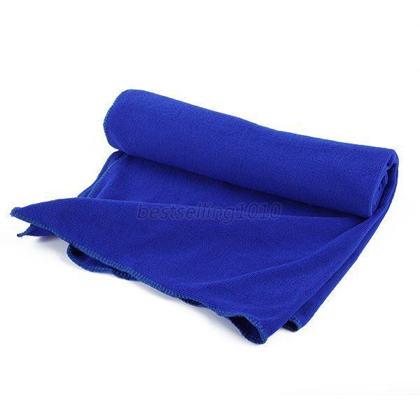 70*140 см большое полотенце для ванны быстросохнущее микрофибра Спорт Пляж плавать путешествия Кемпинг мягкое полотенце s - Цвет: blue