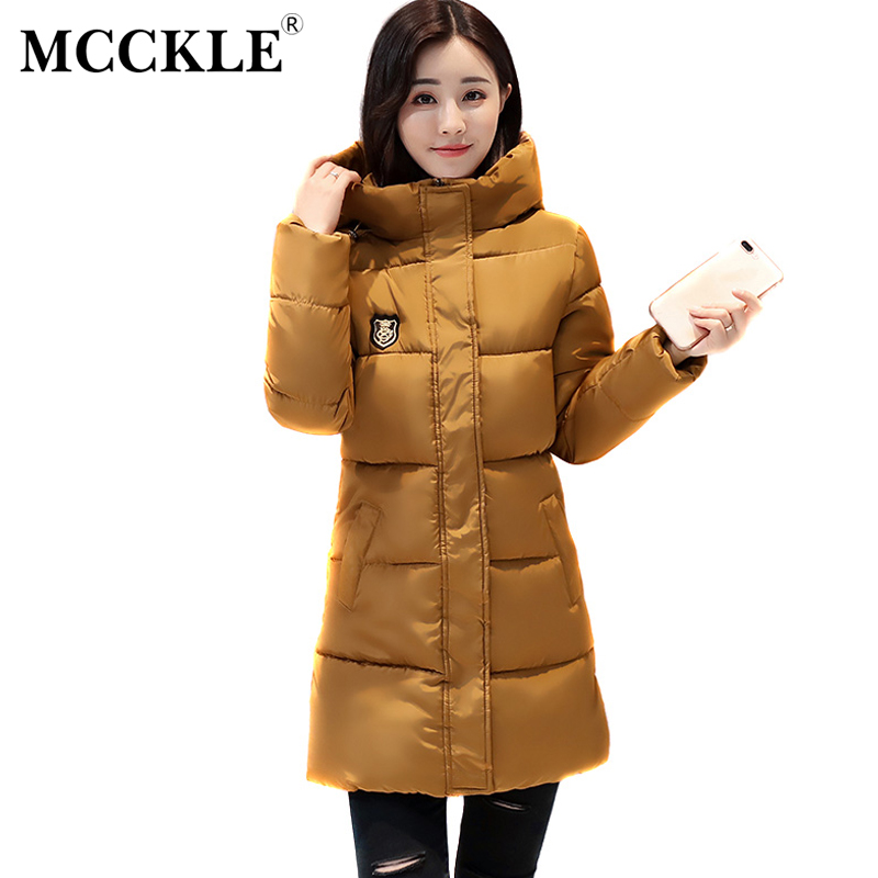 MCCKLE Winter Jacket Women Thickening Cotton Long Parka Hooded 2017 New Winter Coat Female Outwear Plus Size Jaqueta Feminina 2pcs lot 3s 50a protection circuit bms pcm pcb battery protection board for 11 1v li ion lithium battery cell pack free shipping