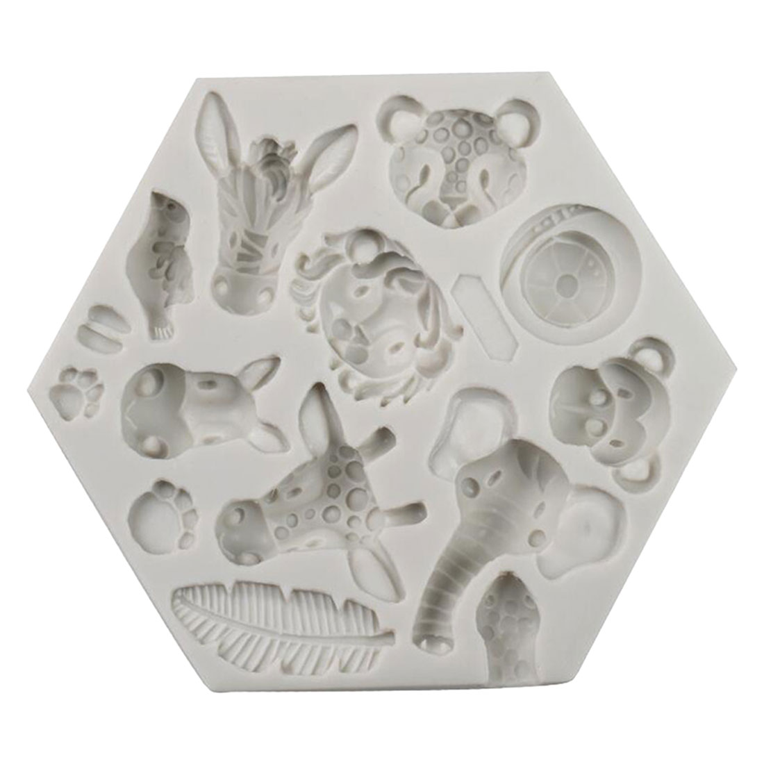 Top Sale Forest Animal Mould Silicone Molds Woodland Cake Decorative Mold ToolsCake Decorating Fondant Mold