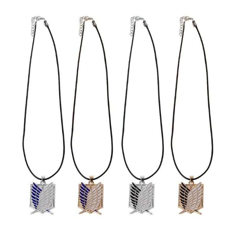 Ожерелье с подвеской в виде крыльев свободы из титана для мужчин|Ожерелья с подвеской|   | АлиЭкспресс