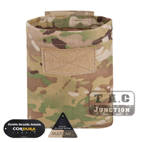 Emerson Tactical MOLLE Roll Up Dump Pouch Emersongear Lightweight Foldable Compressible Storage Bag Magazine pouches Multicam -