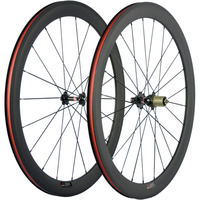 Novatec 271 Hub 350 240S Hubs Clincher Carbon Wheelset Road Bike Bicycle Wheels UD 3K Matte
