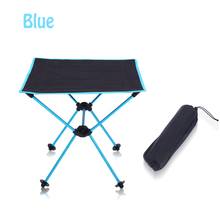 Light Folding Camping Table Oxford Fabric Aluminum Alloy Fishing Travelling Picnic Beach Party Outdoor Portable Fishing Table