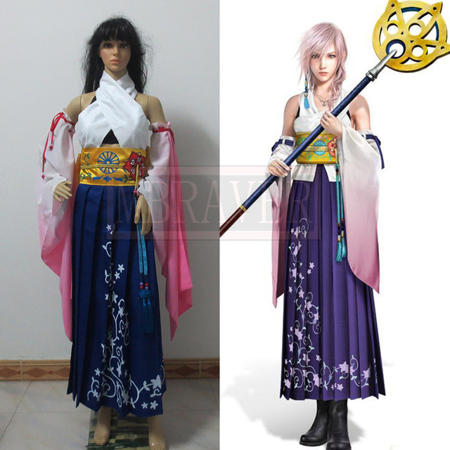 yuna cosplay fantasy Final
