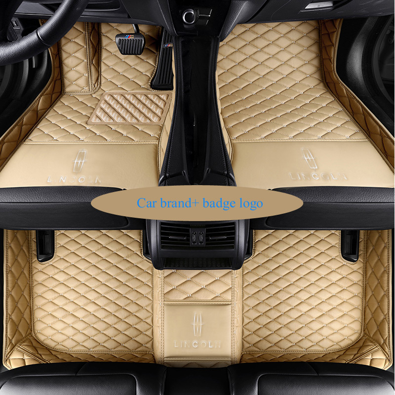 Custom fit car floor mats for Cadillac badge logo ATS CTS XT5 XTS SRX SLS  Escalade 3D car-styling all weather carpet floor liner 889192c0b66