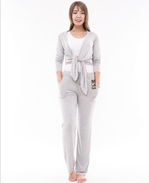 XL-4XL Plus Size Pijama Pants Spring Women Pajama Pants Home Wear Bottoms Ladies Cotton Pant Sleepwear Women's Sleep Pant Q208