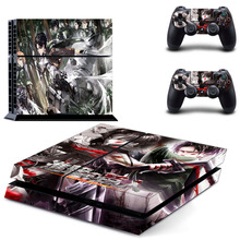 Attack On Titan Decal Vinyl For Sony PS4