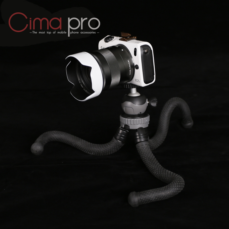 Image 5 - Cima pro RM 30 Travel Outdoor Mini Bracket Stand Octopus Tripod flexible tripe For phone Digital Camera GoPro-in Live Tripods from Consumer Electronics