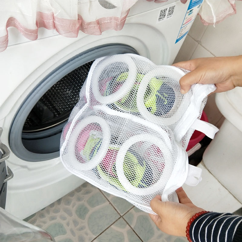 Vanzlife Shoe Bag Underwear Bag Clothing For The Washing Shoes Care Bag  For Mesh Laundry Hamper Bags And For Washing Machines