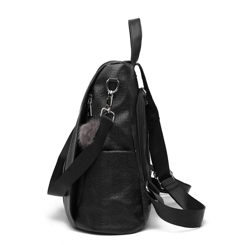 Nevenka 2018 Women Backpacks Fashion Leather Satchel Bags Sac Zipper Bags Casual Shoulder Bags Mochila11