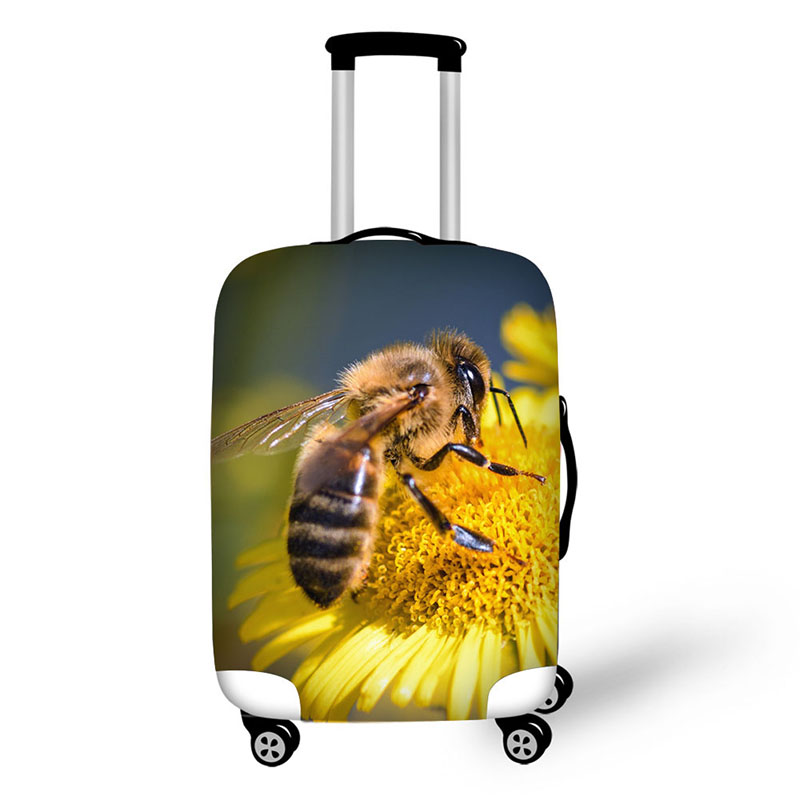 Cover Case Elk Snake Elastic Honeybee Travel Accessories 18-30 Inch Fashion Cover For Suitcase Suitcase Luggage Protect Covers