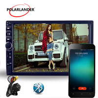 Многоязычная автомобилей Радио MP5 MP4 плеер Bluetooth HD Сенсорный экран стерео аудио/видео/USB TF ауксина FM Зеркало Ссылка для Andriod