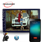multi-language Car Radio MP5 MP4 Player Bluetooth HD Touch Screen Stereo Audio/Video/USB TF Auxin FM Mirror Link For Andriod