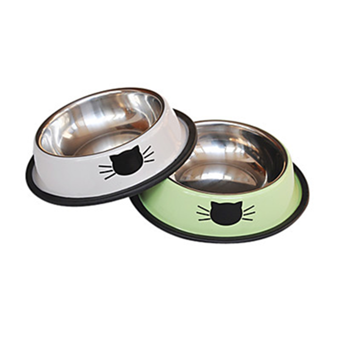 Fashion stainless steel small dog cat food