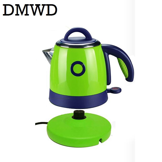 DMWD Split Style Electric kettle Stainless Steel Quick Heating hot water heater Auto power off teapot boiler 1000w 0.8L EU plug автомагнитола supra sfd 43u usb mp3 fm 1din 4x40вт черный