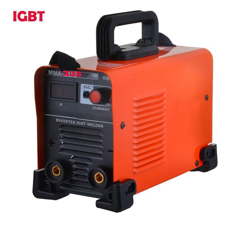 цена на DC IGBT Inverter Electric Mini Welding Machines, ZX7-225 Wide Voltage MMA ARC 170/260v Stick Welder Machine Free Shipping