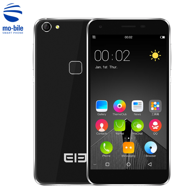 Original Elephone S1 Android 5.1 5.0 inch 3G Smartphone MTK6580 Quad Core 1.3GHz 1GB RAM 8GB ROM Fingerprint 8.0MP Mobile Phone