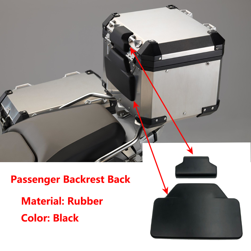 New Arrival! F800GS R1200GS Passenger Backrest Back Pad Rear Saddlebag Trunk Sticker For BMW F 800 GS ADV / R 1200 GS Adventure