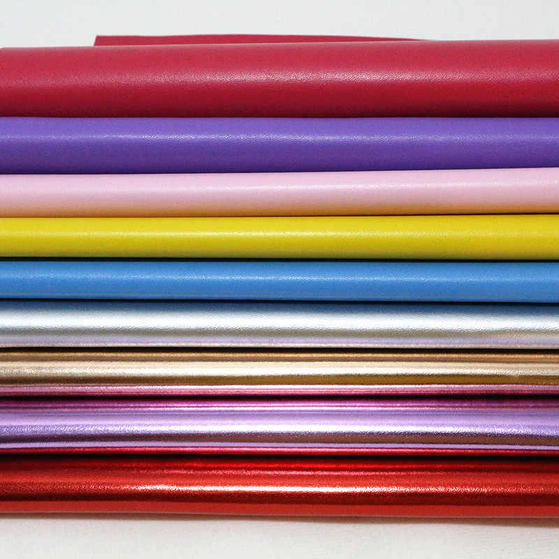 1 PC A4 21*29 centímetros Falso Artificial Tecido De Couro Sintético PU Pano Para Costura DIY fontes do ofício