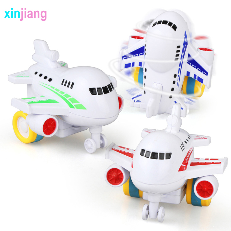 Kids Toy Cute Diecast Car Model Airplane Model Plane Toy Vehicles Friction Airplane Toys For Boys Educational Toys For Kids ) image