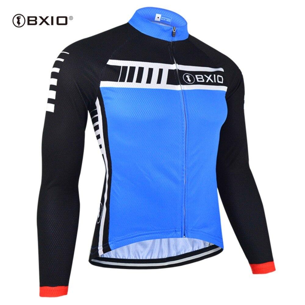 6093dde9c5 Bxio Ciclismo desgaste Ciclismo ropa hombres ciclismo ropa Ciclismo Jersey manga  larga Bicicletas bici Jersey camisa superior Ciclismo 094-j
