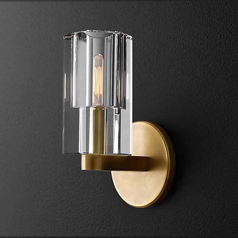 Салон G9 светодиодный светильник 2 светло бра для дорожки светодиодный светильник настенный светильник золото готовые кованого железа стен