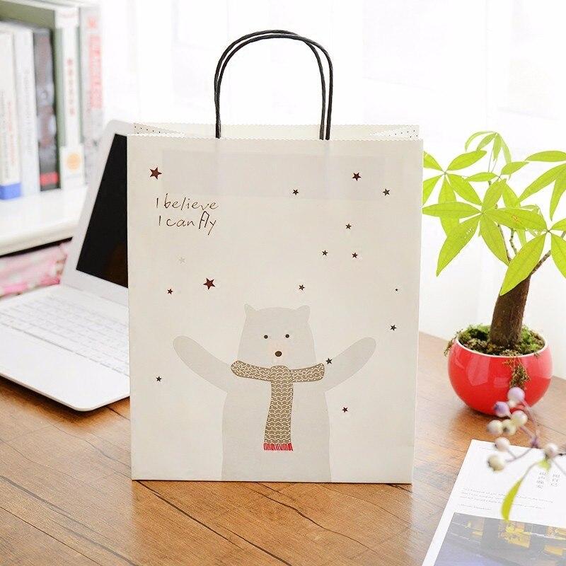 bijoux lot Papier Sacs Logo Magasins Cadeau Personnalisée Pcs Pliable En Pour vêtements Impression 500 Kraft Blanc Gros Boutique txYO1nqZ