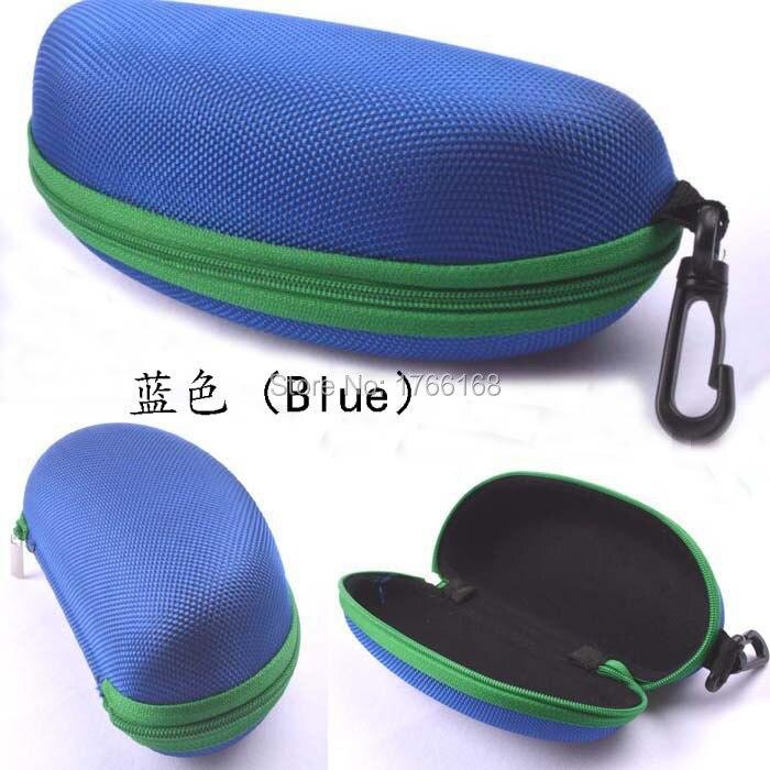 5 шт./лот солнцезащитные очки чехол для солнцезащитные очки с застежкой жесткий ЕВА модные очки поле 7 цветов