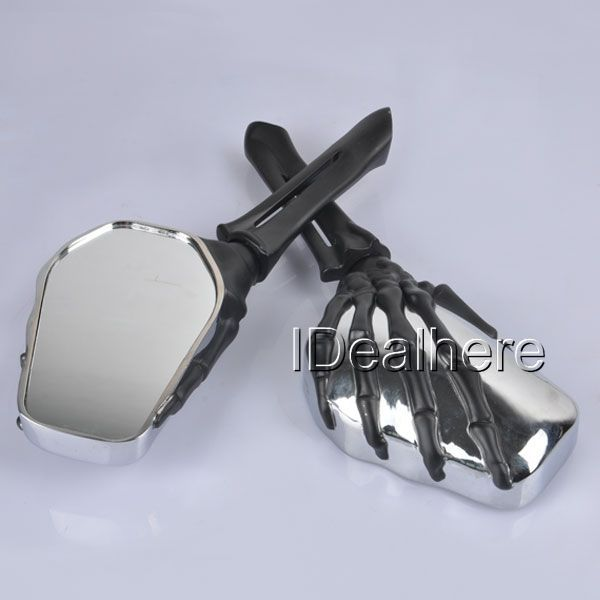 CHROME SKULL HAND REARVIEW MIRRORS FOR VICTORY HYOSUNG KYMCO SCOOTER GY6 49 50CC joseph платье длиной 3 4
