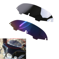 5 Motorcycle Chrome Reflected Windshield Windscreenor Harley Electra Street Glide Touring FLH Motor Bike Accessory MBJ336