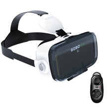 3D VR Virtual Reality Glasses(4.0 Version) VR Box 3D Movie Video Game Glass120 FOVwith Headphone for 4.7-6.2 Inch Phone