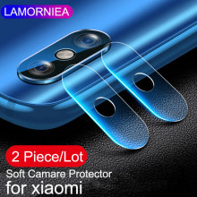 Lamorniea Back Camera Lens Tempered Glass For Xiaomi Mi Mix 3 2S Soft Protective Film Mi Max 3 Note 5 6 Pro Mi 8 SE A2 A1 6X F1(China)