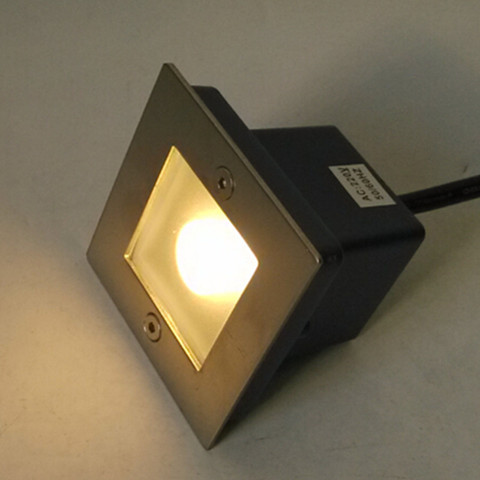 lampada interior ao ar livre luzes passo levaram