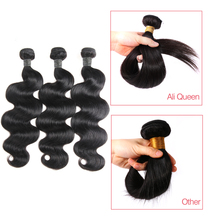 Peruvian Hair Weave Bundles 10Pcs/lot Body Wave 100% Human Hair Weaving Natural Color Remy Hair