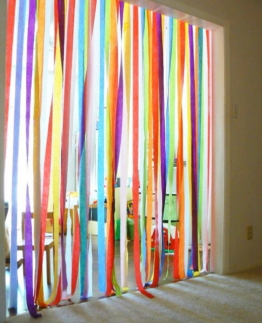 Whether Party Decorations Or Ornaments Display Ribbons And Streamers In Unexpected Ways
