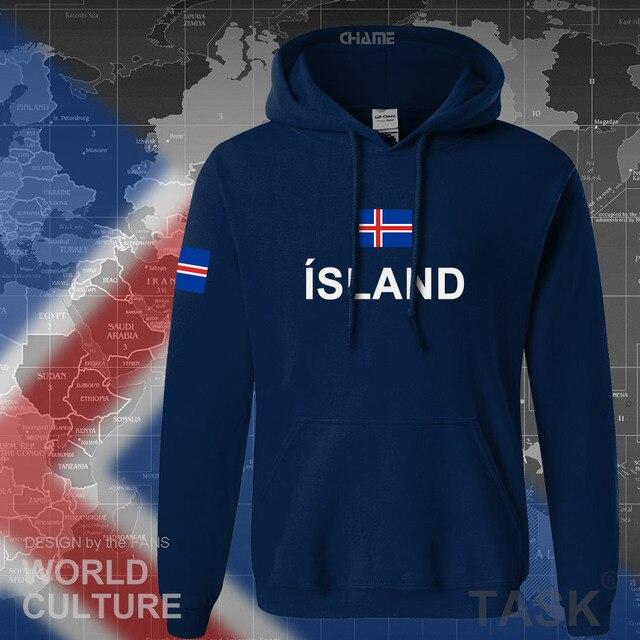 Iceland hoodie men sweatshirt sweat new hip hop streetwear island nation clothing 2017 sporting country ISL Icelander Icelandic 2