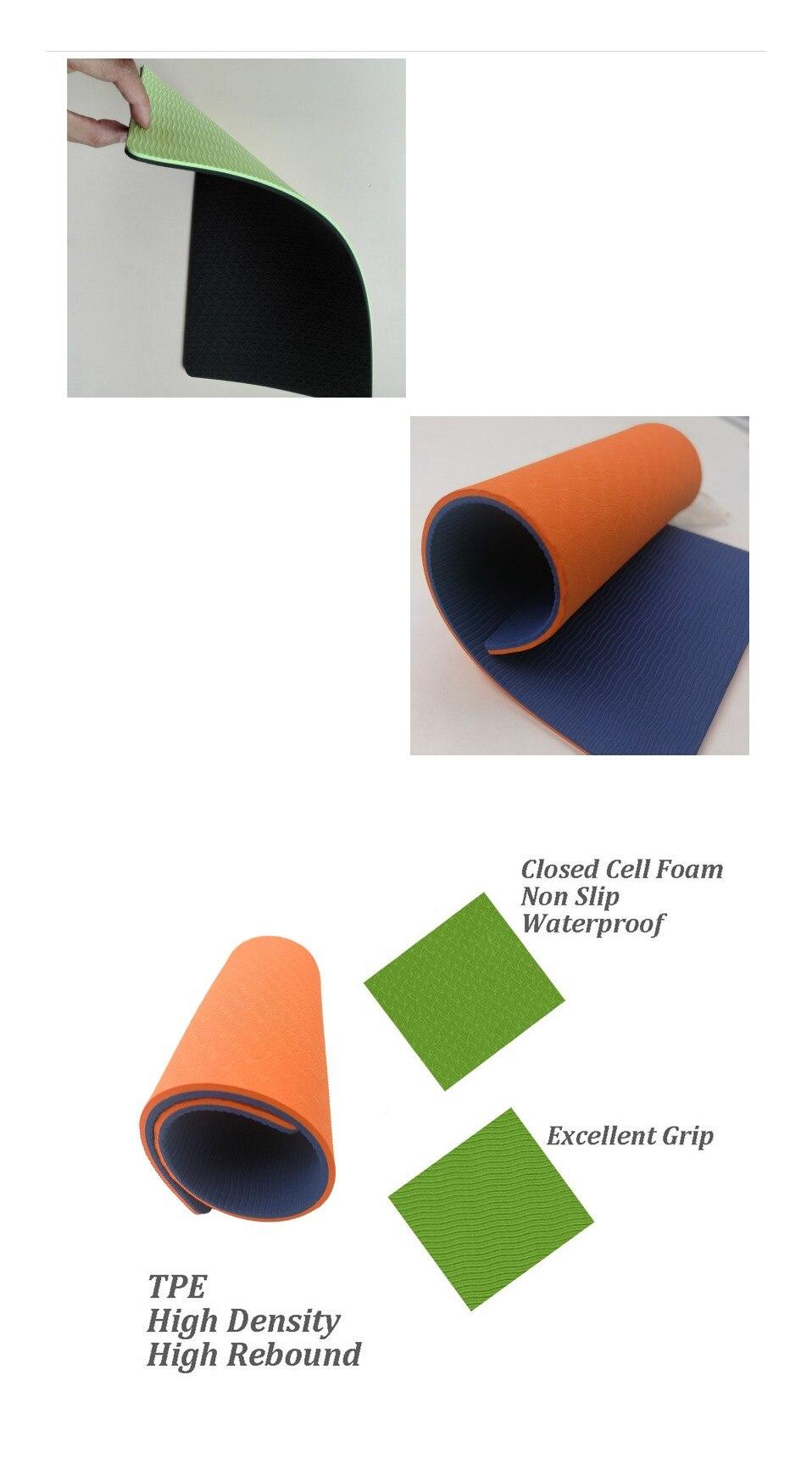 Yoga Knee Pad Cushion 6mm Wrist Elbows Pads Mats Gym Knee