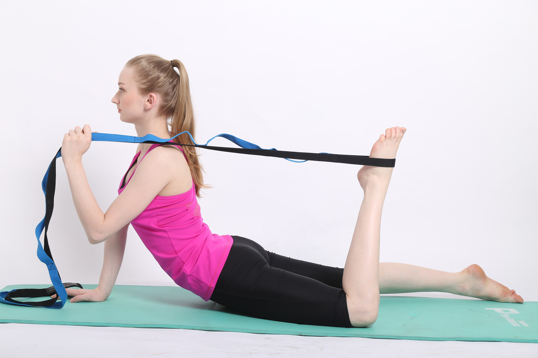 Yoga Chrysanthemum Rope Stretch Stretch Bar With Air Yoga Resistance With Tension Rope Training Rope in Yoga Belts from Sports Entertainment
