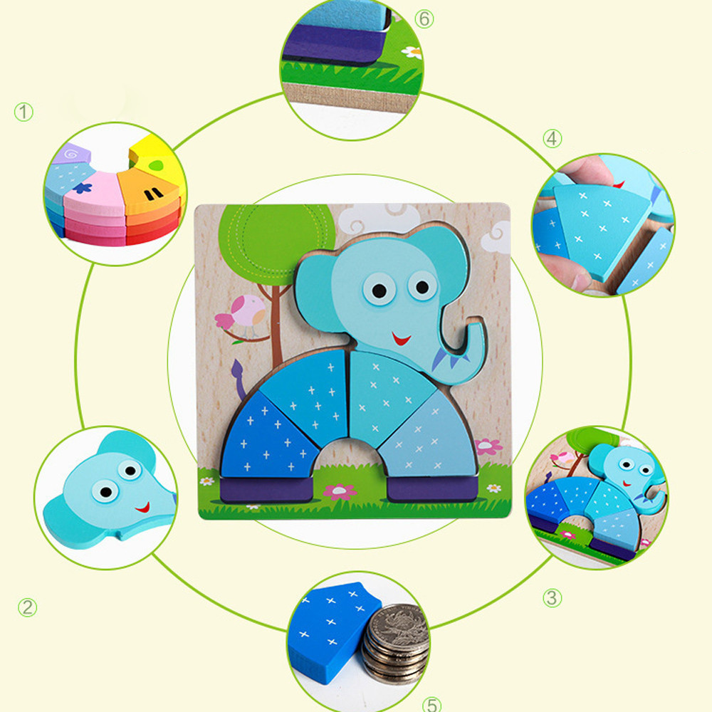 HIINST Kids Carpet Hand Grasping Puzzle Board Cartoon Wood Three-Dimensional Puzzle Toy Ball Maze Game Mar13 W20d40 2018