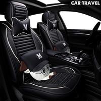 pu Leather car seat cover For hyundai ix25 ix35 opel zafira b chevrolet spark vw golf 5 6 7 auto accessories car styling