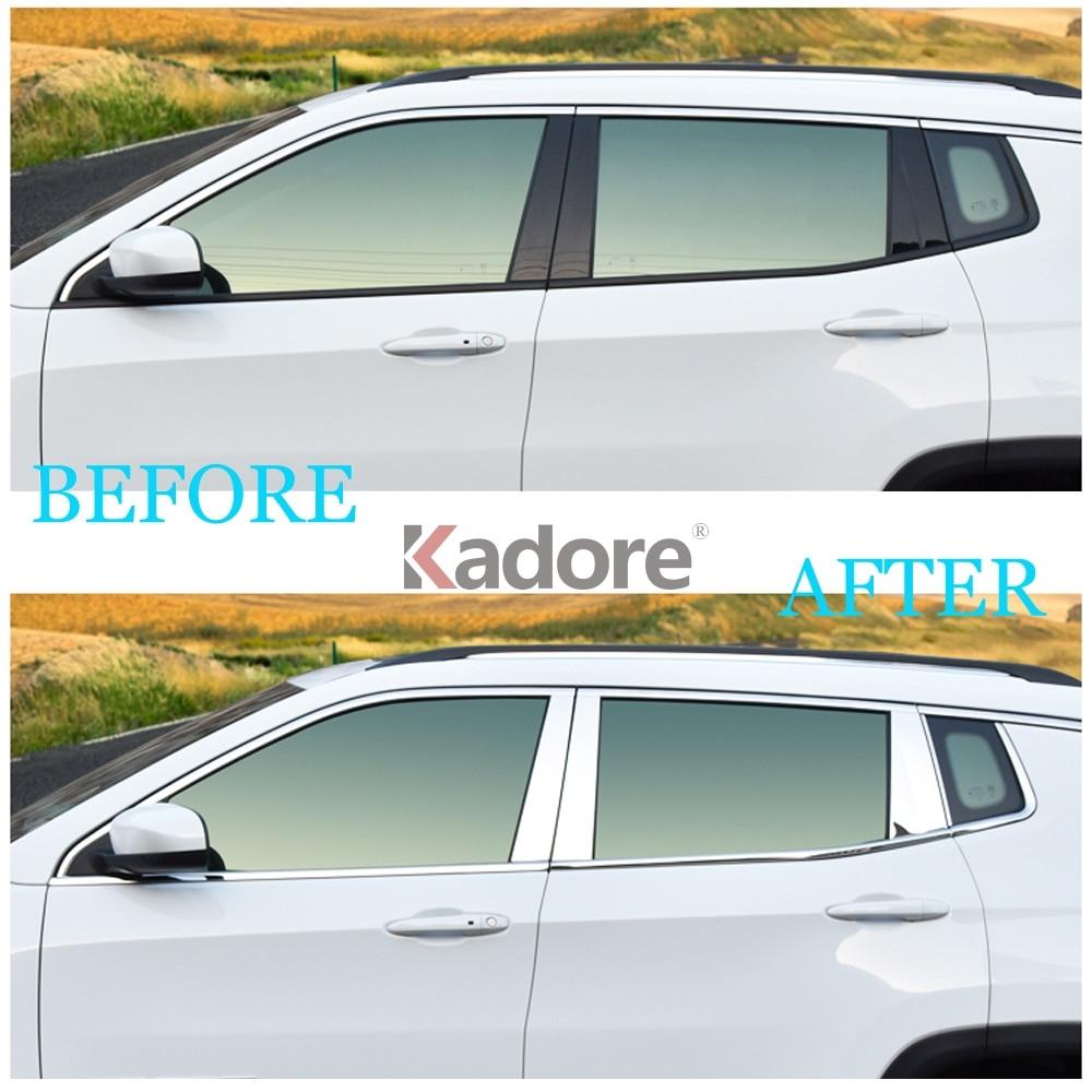 Car Interior Luce di Emergenza Pulsante Cornice Decorazione Adesivi Copertura Compatibile con Jeep Wrangler JK 2011 2012 2013 2014 2015 2016 2017 Accessori Auto Styling