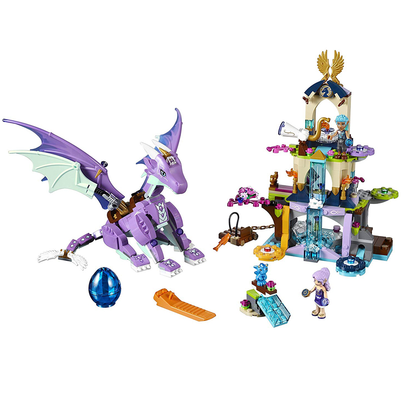Bela Elves 10549 The Dragon Sanctuary Building Blocks Kit 41178 Elves Bircks Figures Model Toys Gift image