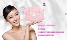 1PCS Tourmaline Gel Magnet Mask Facial Slimming Beauty Massage Face Mask Thin Face Remove Pouch Health Care Skin Products