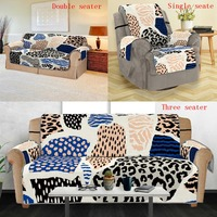 Limited time ultra low price spotted leopard fruit Anti Slip Quilted Sofa Couch Cover Chair Pet Dog Kids Mat Furniture Protector