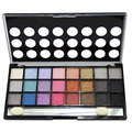 quality eyeshadow palette maquiagem 24 colors eye shadow shimmer naked palette make up beauty with eye pencil Free shipping 2413